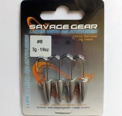 Savage Gear - Savagear LRF Micro Sandeel Jighead 4pcs