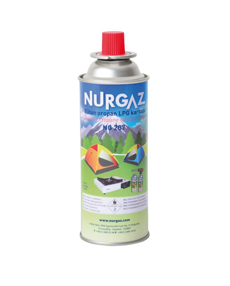 Nurgaz - Nurgaz 220gr Ocak Kartuşu