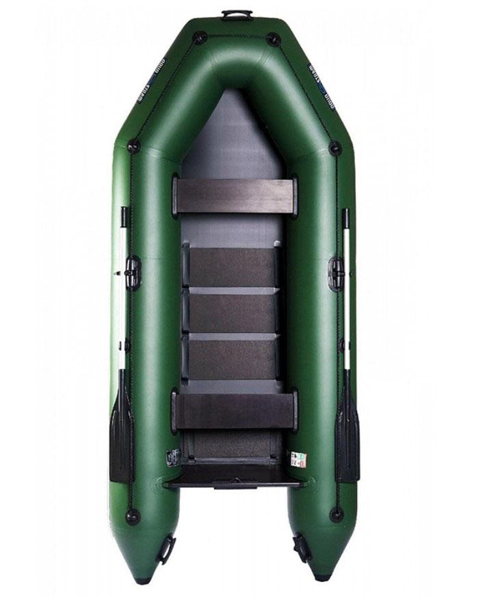 Aqua Storm - Aqua Storm Izgara Taban Motor Takılan Şişme Bot STM 300 Yeşil