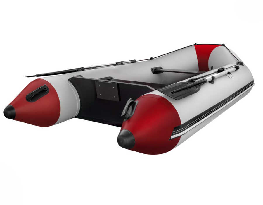 Aqua Storm Izgara Taban Şişme Bot IT STM 330 Gri-Kırmızı