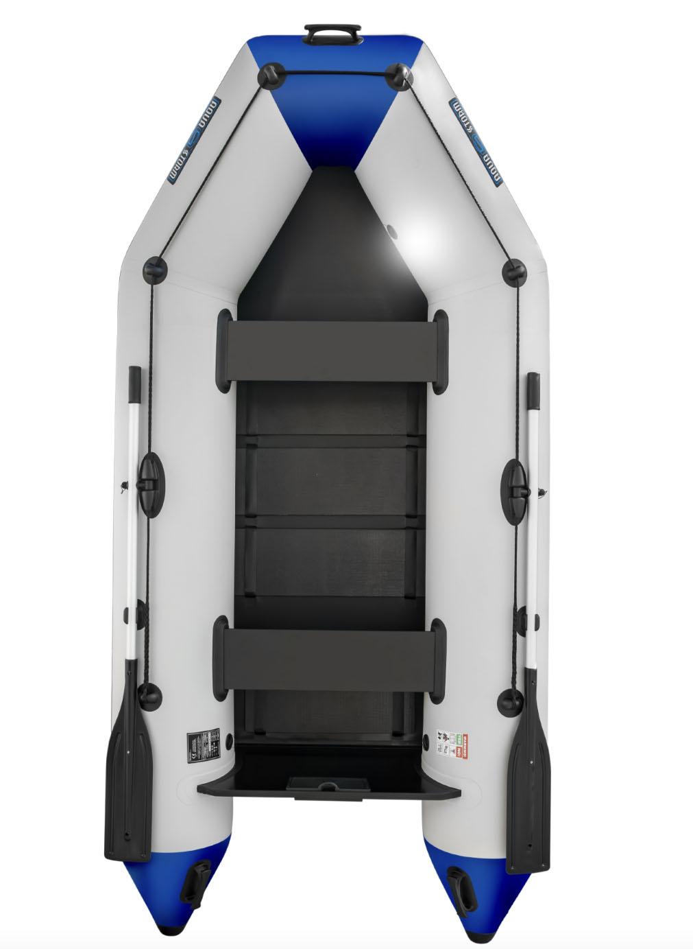 Aqua Storm - Aqua Storm Izgara Taban Şişme Bot IT STM 330 Gri-Mavi