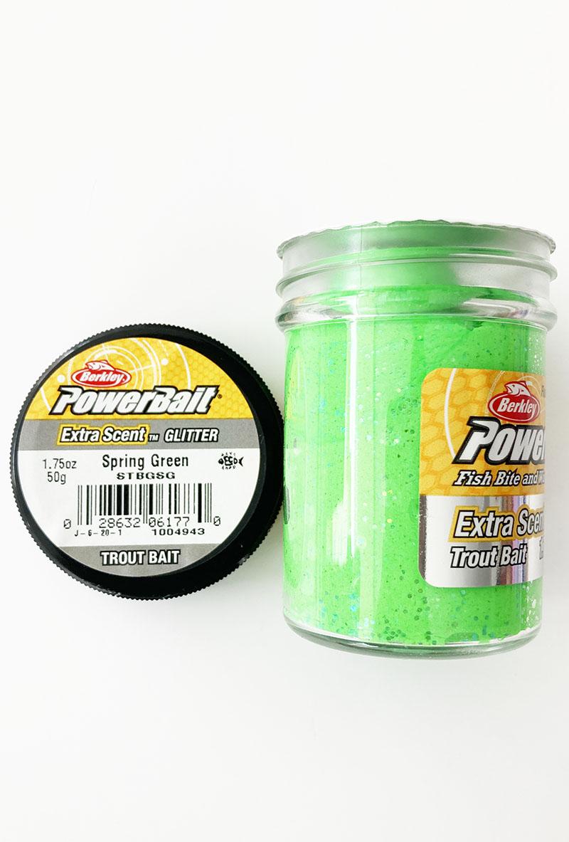 Berkley - Berkley Power Bait Extra Scent Glitter - Spring Green