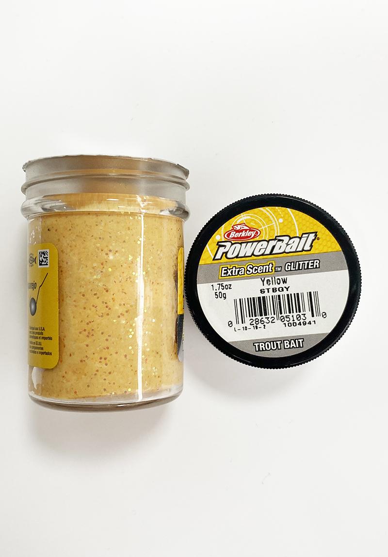 Berkley - Berkley Power Bait Extra Scent Glitter Yellow