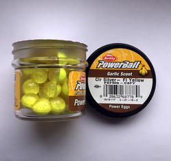 Berkley - Berkley Power Bait Garlic Scent Clr Siver - Fl Yellow