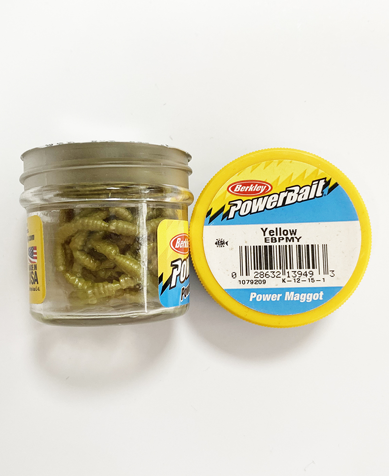 Berkley - Berkley Powerbait Power Maggot Yellow