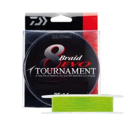Daiwa - Daiwa Tournament 8B Evo Chartreuse 135m 0.08mm İp Misina