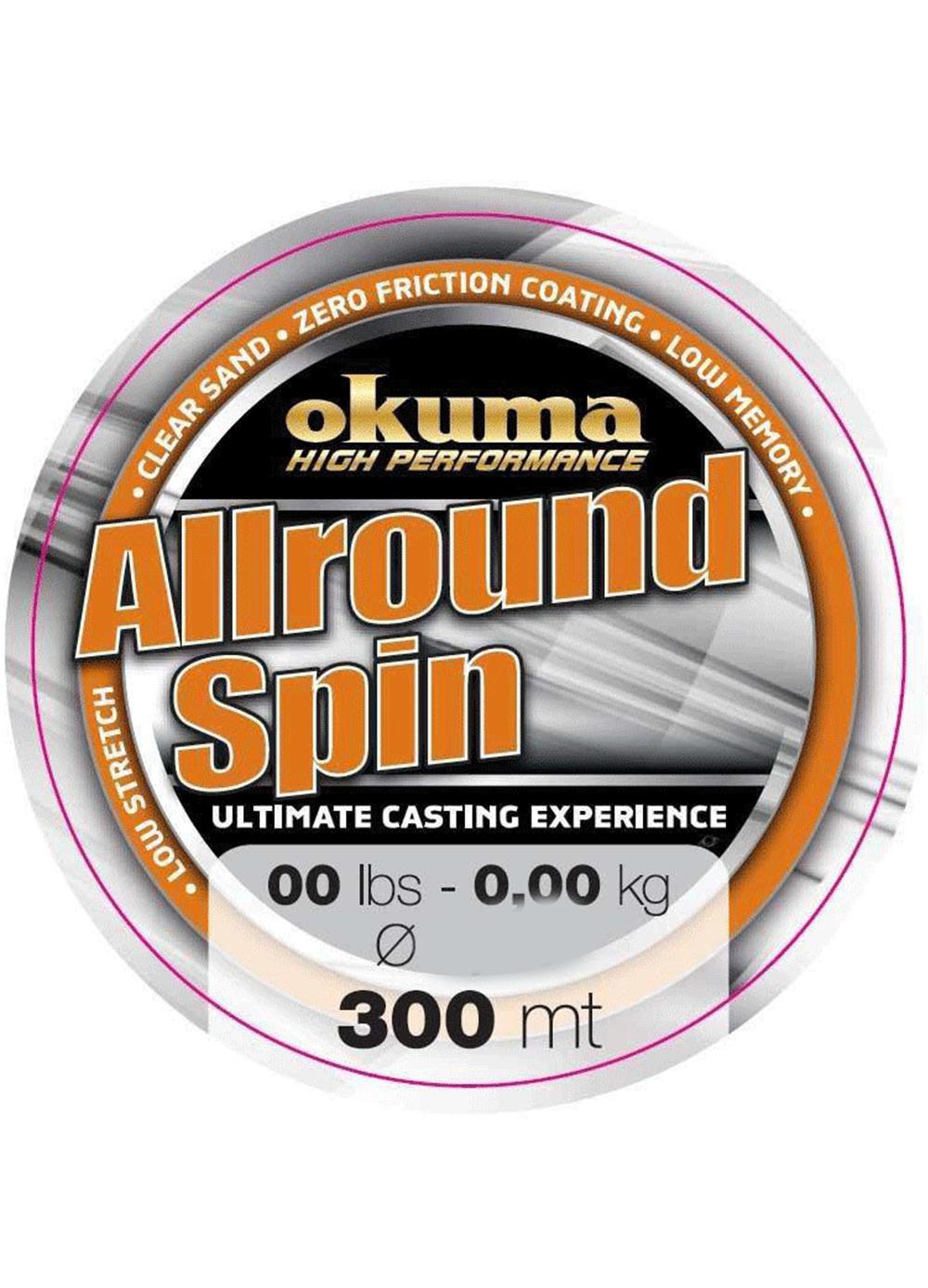 Okuma - Okuma Allround Spin 300mt Brown Misina