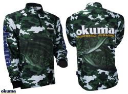 Okuma - Okuma Tournament Jersey %100 Polyester (Kamuflaj)