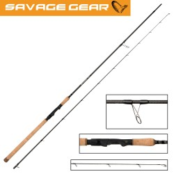 Savage Gear - Savage Gear Browser CCS 290cm 12-40g Spin Kamış 2P