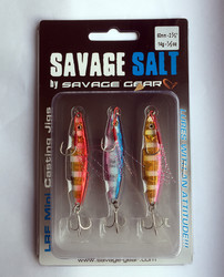 Savage Gear - Savage Gear Psycho Sprat Turkish Zebra Mix-2 Jig Yem 3lü
