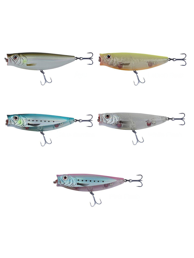 Savage Gear - SG 3D Minnow Pop Walker 55 5.5cm 5g LRF Popper Sahte Balık