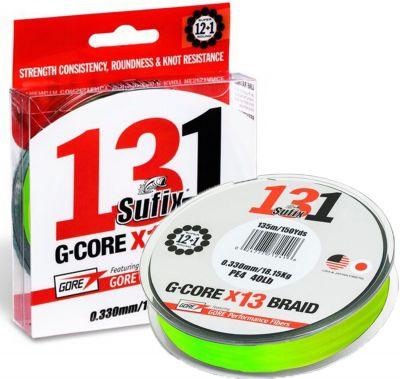 Sufix G-Core 131 13X Braid 150m Örgü İp Misina Chartreuse